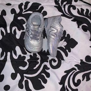 Infant Silver New Balance